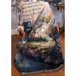 """""""Church in the Country"""" Memorial Throw"""