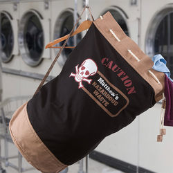 Personalized Hazardous Waste Laundry Bag