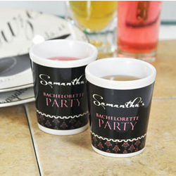 Damask Party Shot Glasses