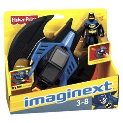 Batwing Disc Shooter with Batman Toy
