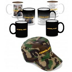 Homeland Military Cap and Heat Sensitive Mug Set