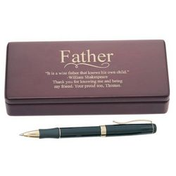 Personalized Pen Set for Dad