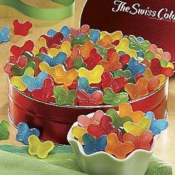 Sugar-Free Gummi Butterflies Gift Tin
