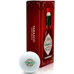 Tabasco 3 Ball Sleeve Golf Balls
