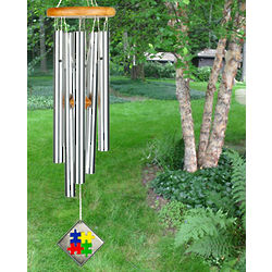 Autism Awareness Wind Chime