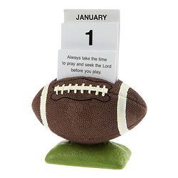 Football Prayer Card Calendar