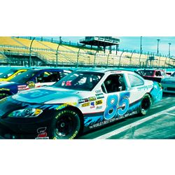 Kansas Speedway NASCAR Ride Along for 1