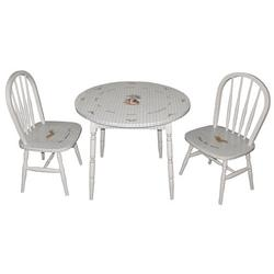 Enchanted Forest Round Table and Chairs Set