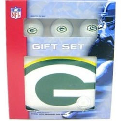 Green Bay Packers Golf Gift Box Set