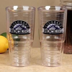 Colorado Rockies Team Logo Tumbler Cup Set
