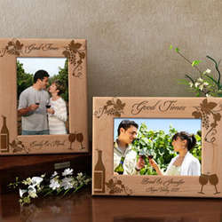 Personalized Good Times Wooden Picture Frame