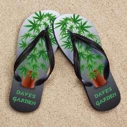 Personalized Pot Garden Beacher Sandals