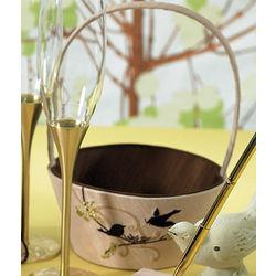 Love Bird Flower Girl Basket