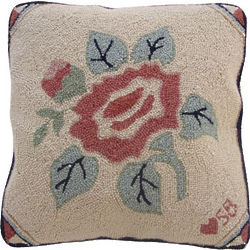 Susan Branch Floral Pillow