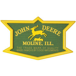 John Deere Nostalgic Trademark Bar Sign