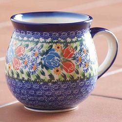 Polish Pottery-Style Mug
