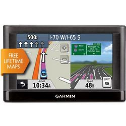 "Garmin nvi 4.3"" Touchscreen GPS with Lifetime Map Updates"