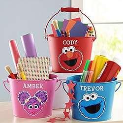 Personalized Sesame Street Bucket of Fun