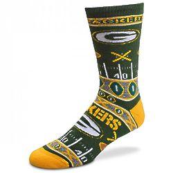 Green Bay Packers Super Fan Socks