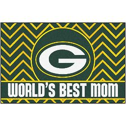 Green Bay Packers World's Best Mom Floor Mat