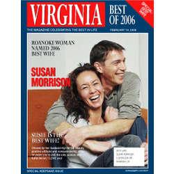 Personalized Husband/Wife Magazine Label