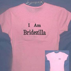 Personalized Bridezilla Shirt