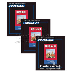 Russian I, II, III CDs - Combo Pack