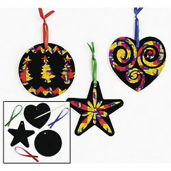 Magic Color Scratch Holiday Ornaments