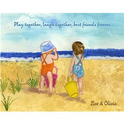 Sisters and Friends Fine Art Print