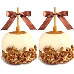Chocolate Dunked and Candy Coated Gourmet Caramel Apples