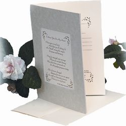 """I Have You in My Heart"" Frameable Sympathy Card"