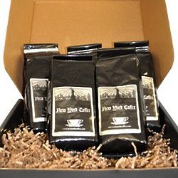 Fresh and Fruity Flavored Ground Coffee Gift Box