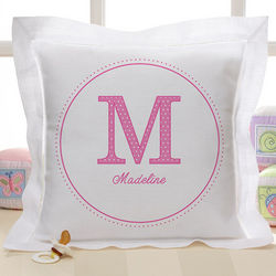 Personalized Linen Name Pillow