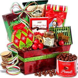 Deck The Halls Christmas Gift Tin
