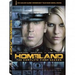 Homeland The Complete First Season DVD