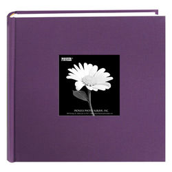 Fabric Frame Bi-Directional Photo Album