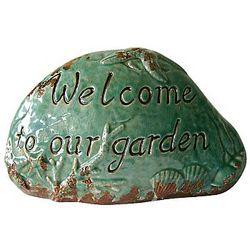 Welcome to Our Garden Green Garden Stone