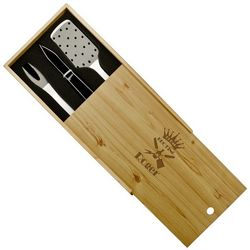 Personalized Grilling Set for Dad