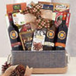 Italian Wine Gourmet Gift Basket
