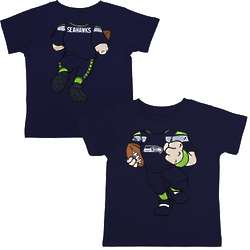 Seattle Seahawks Toddler Football Dreams T-Shirt
