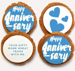 More Great Years Anniversary Cookies