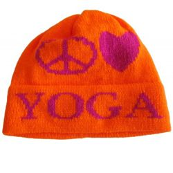 Personalized Peace Love Winter Hat