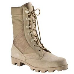 Tan Speedlace Jungle Boots