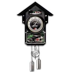 Dale Earnhardt Jr. #88 NASCAR Cuckoo Clock