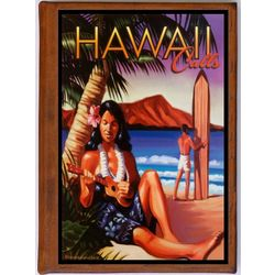 Hawaii 9 Vintage Travel Art Handmade Leather Photo Album
