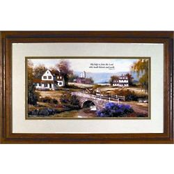 Countryside Memorial Framed Art