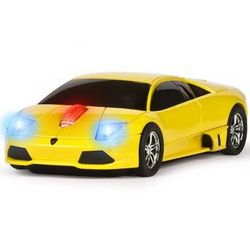 Yellow Lamborghini Road Mice Computer Mouse