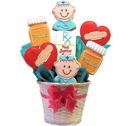 Personalized Doctor's Orders Cookie Bouquet