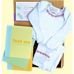 Baby Goods Clothing and Journal Set