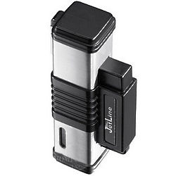 Black and Silver Jetline Lighter
